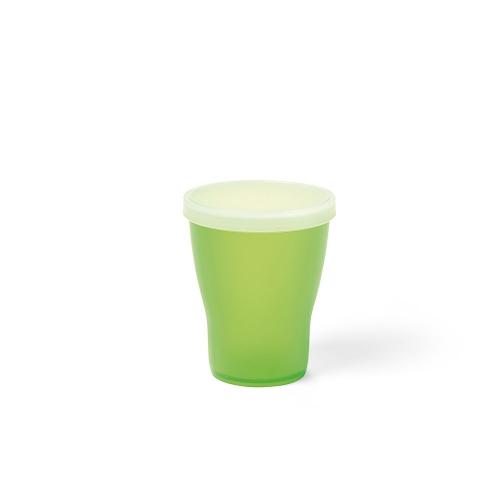 bicchiere con coperchio